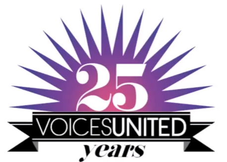 LOOK WHO'S NEXT: Voices United 25th Year Anniversary