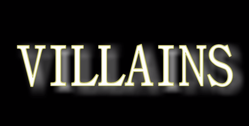 "Villains Episode 101: ""Intros"""