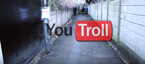 LOOK WHO'S NEXT: YouTroll