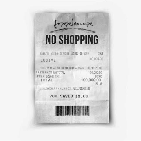 LOOK WHO'S NEXT: Lusive's NO SHOPPING(FrxxMixx)