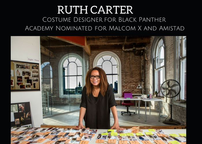 Be In The Talk With Ruth Carter, Black Panther's Costume Designer