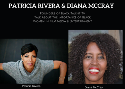 Be In The Talk With Black Talent TV Founders Diana McCray & Patricia Rivera