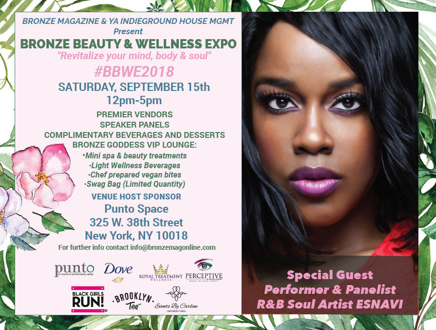 Join Black Talent TV Founders At the Bronze Beauty and Wellness Expo