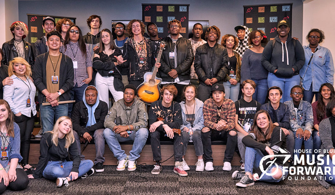 HOUSE OF BLUES MUSIC FORWARD FOUNDATION LAUNCHES SCHOLARSHIP TO HELP HOMELESS AND FOSTER YOUTH PURSUE CAREERS IN MUSIC BUSINESS